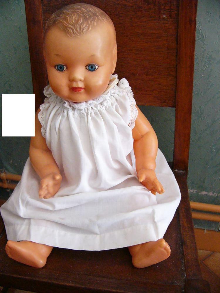 ancien baigneur poupon poup e moulin 43 robe blanche baigneurs pinterest poupons robe. Black Bedroom Furniture Sets. Home Design Ideas