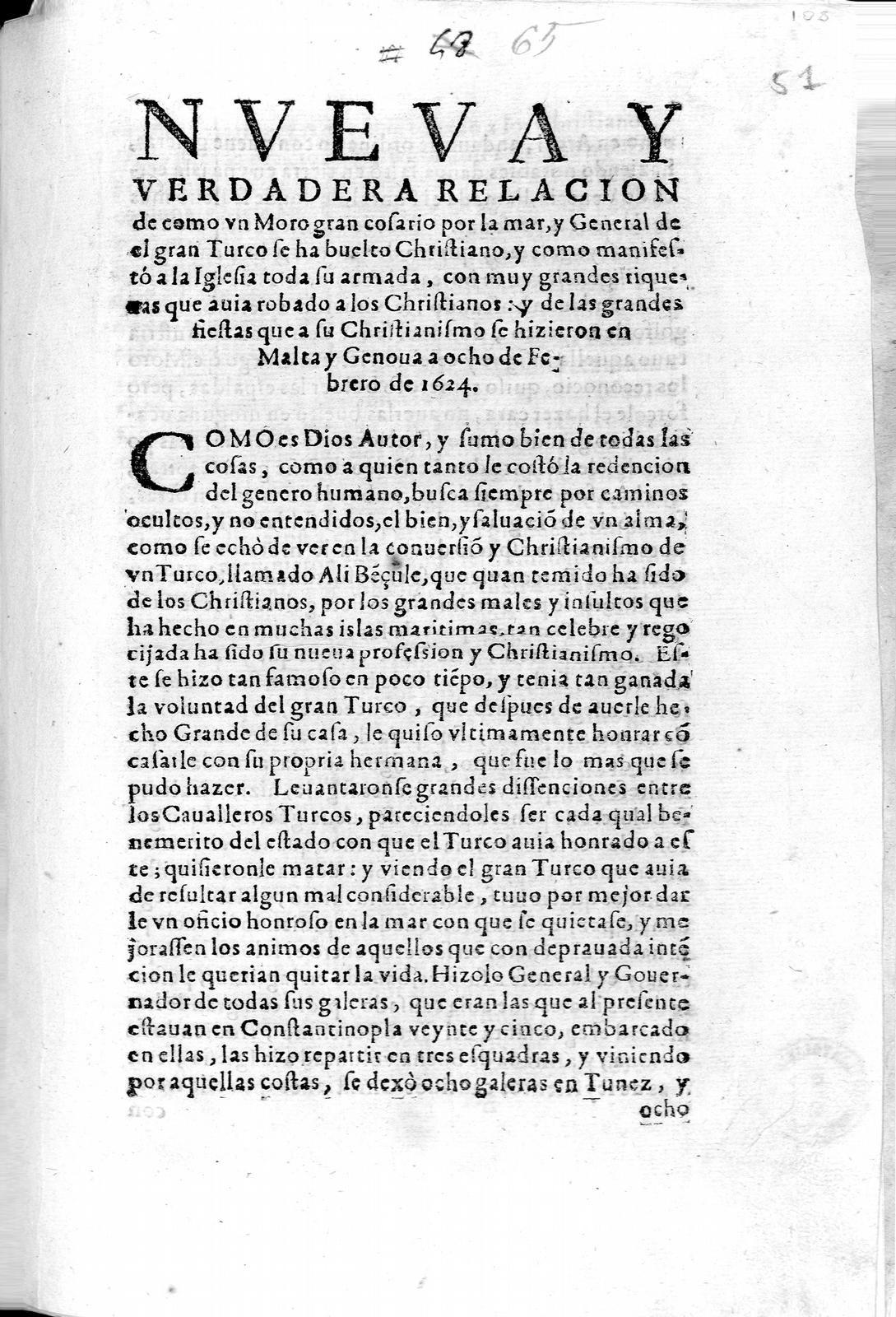 JUAN DE BORJA 1624