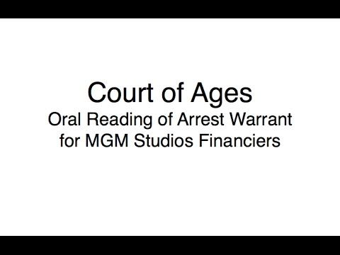 ARREST WARRANT: MGM Studios Parent Company Financiers