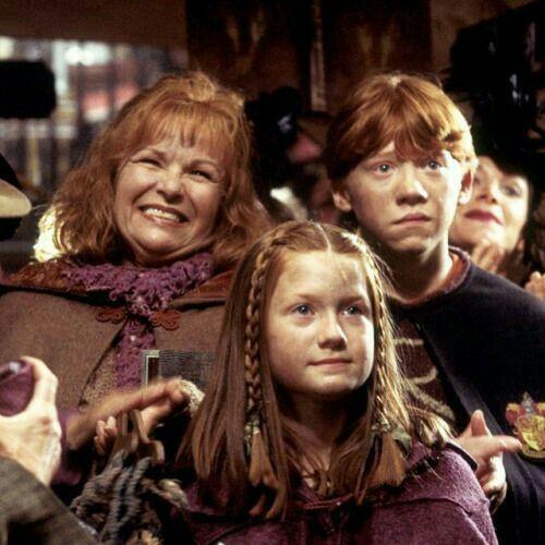 Molly Ron Et Ginny Harry Potter Bilder Harry Potter Lustig Harry Potter Asthetik