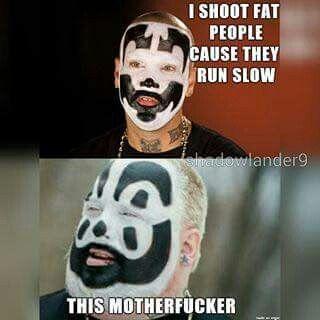 Hahaha I love icp! Shaggy 2dope n violent Jay! Whoop whoop mfcl!