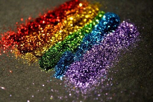 Glitter...and I can mix just about any color you need!
