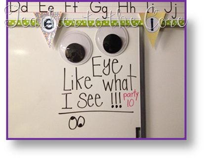 Great Behavior Management Plan Using Giant Googly Eyes Or The