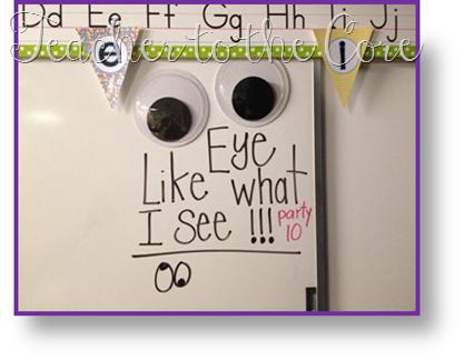 Love this idea for Behavior Management!    칠판에 붙여놓음으로써 아이들에게 재미를 줄 수도 있고, 교사가 없을 때 교사 대신의 역할이라고 말할 수도 있을 것 같다. 학급을 조용히 시킬 때 사용할 수 있는 방법!!