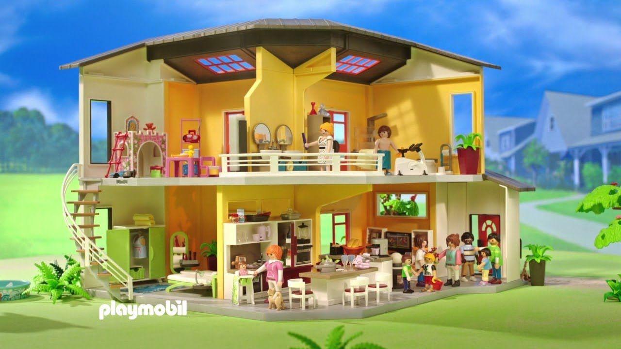 PLAYMOBIL 9266 maison moderne-ouverture-unboxing-fr | Histoire de ...