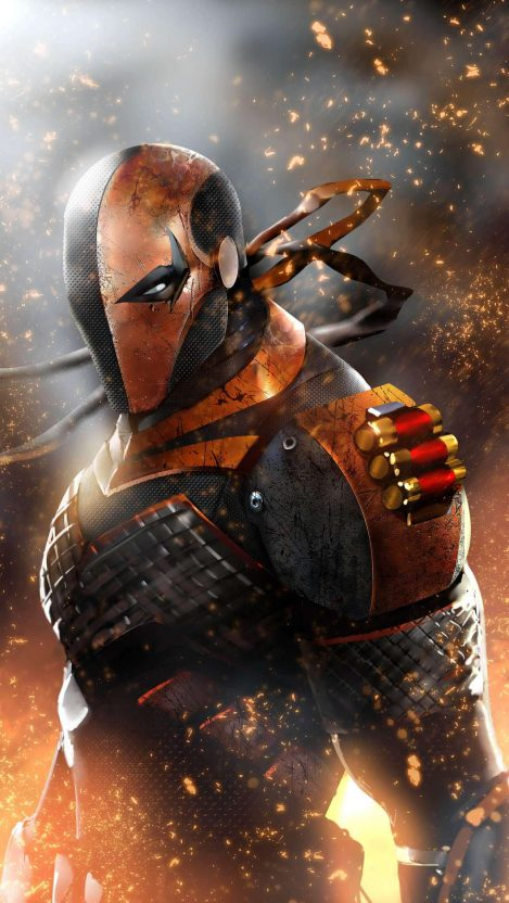 Deathstroke iPhone Wallpaper Free – GetintoPik