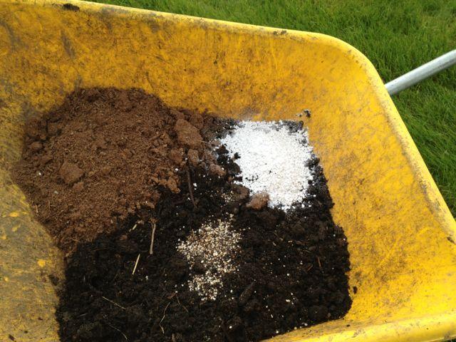 Make Your Own Potting Mix Garden Compost Potting Soil Garden Frogs