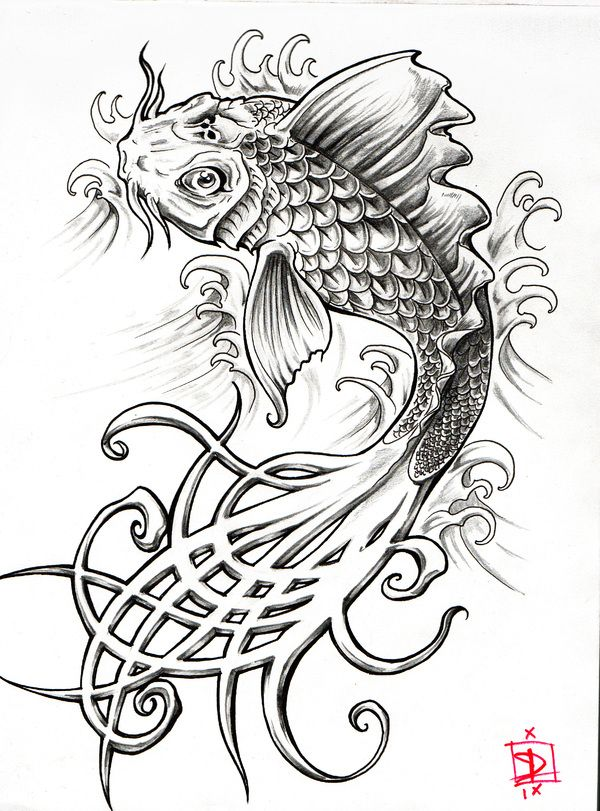 46+ Tatouage carpe koi dragon trends