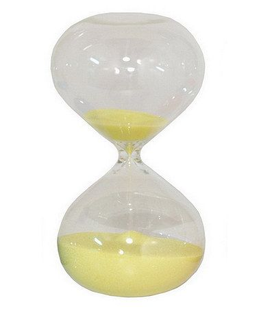 Take a look at this Yellow Sand Timer Hourglass by Three Hands