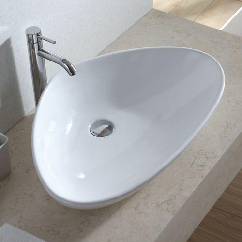 lux aqua design waschtisch keramik waschbecken aufsatzwaschbecken 4925 waschbecken g ste wc. Black Bedroom Furniture Sets. Home Design Ideas
