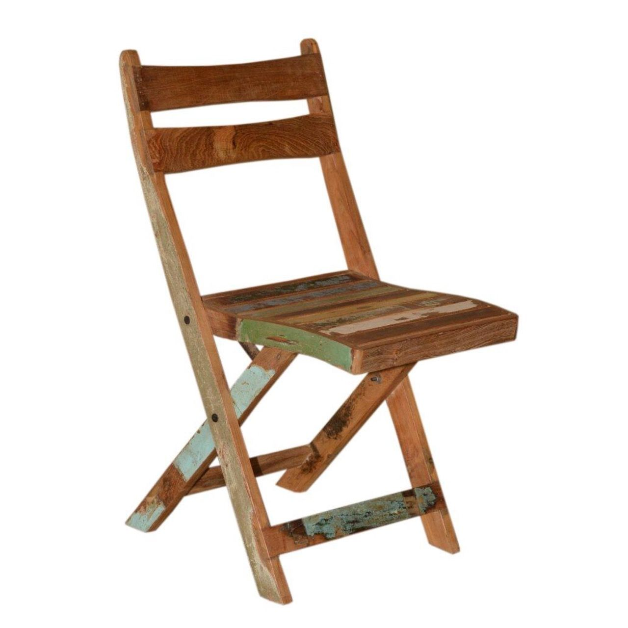 reclaimed wood folding chair great for the outdoors repurposed rh pinterest com