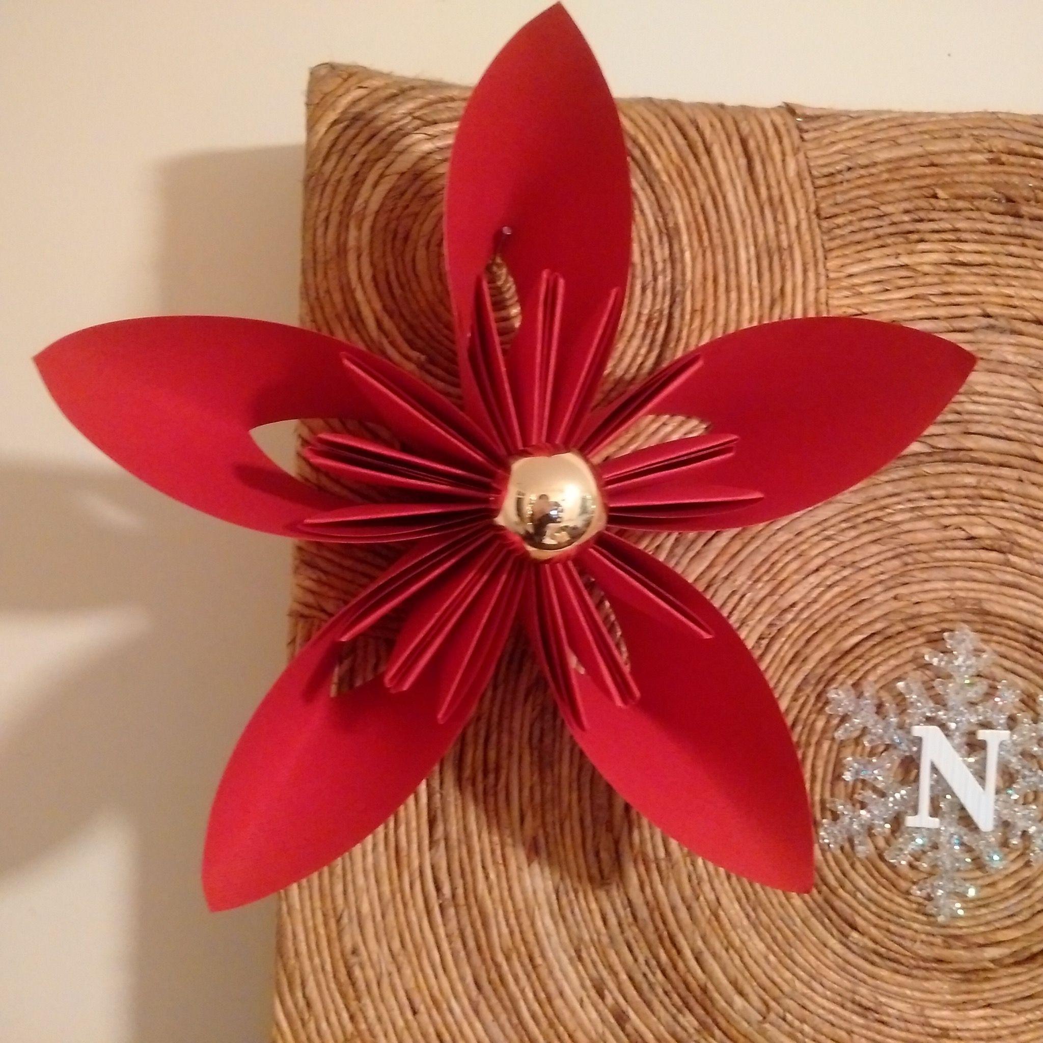 Red Kusudama Paper Flower Paper Flower Design Shop Sanvilisa