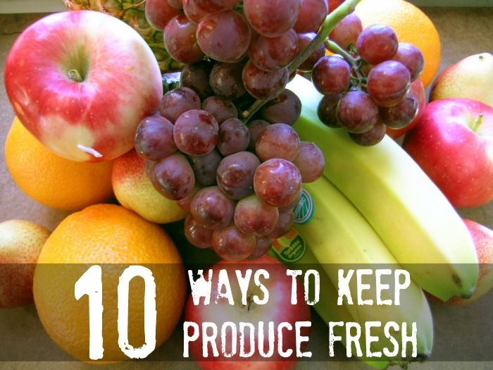 Keep your produce fresh for longer!