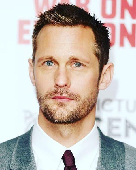 He Has Brilliant Beautiful Intelligent Eyes Alexander Skarsgard