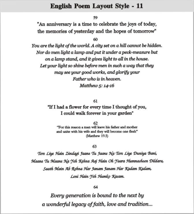 Marriage Quotes For Wedding Invitations In English Wedding