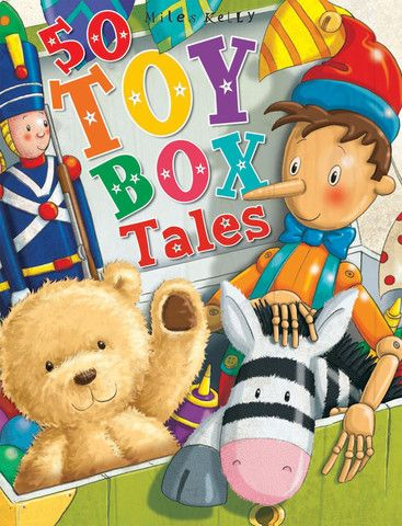50 Toy Box Tales - perfect for bedtime stories with the kids