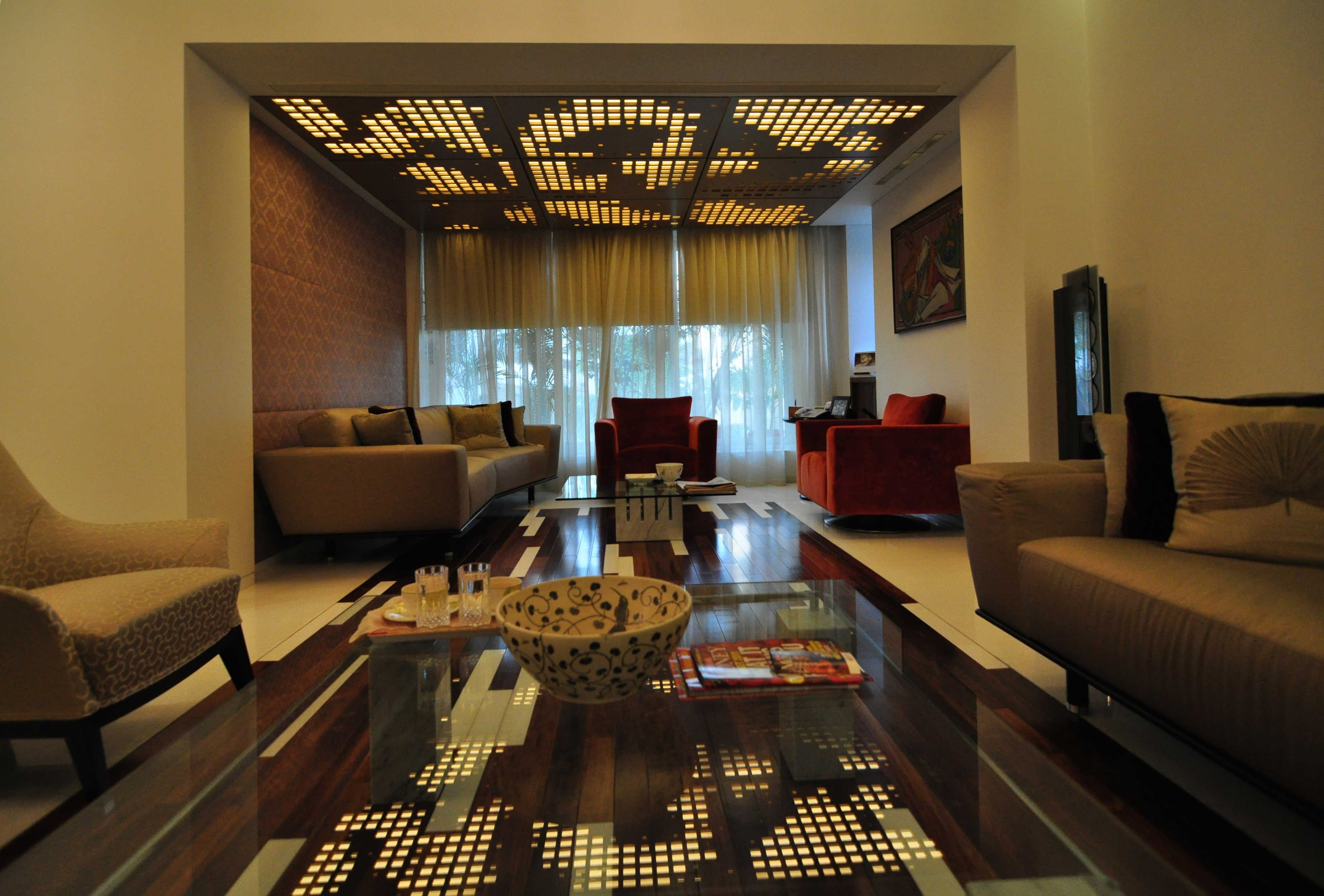 J House By Architect Kayzad Shroff Living Room Design
