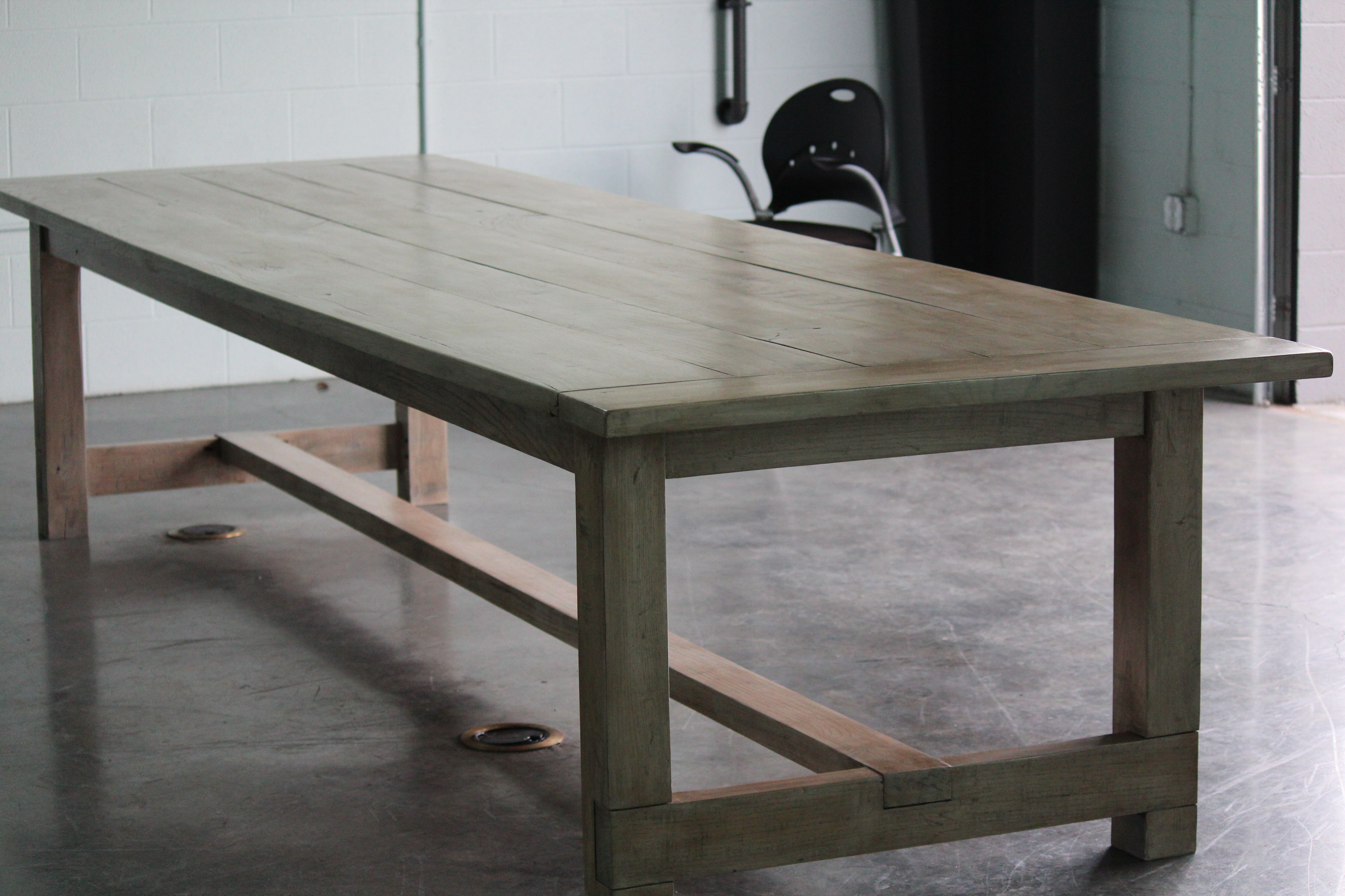 Custom 12ft Farm Table From The Rusty Nail Primitives Farm Table Table Farmhouse Dining Table