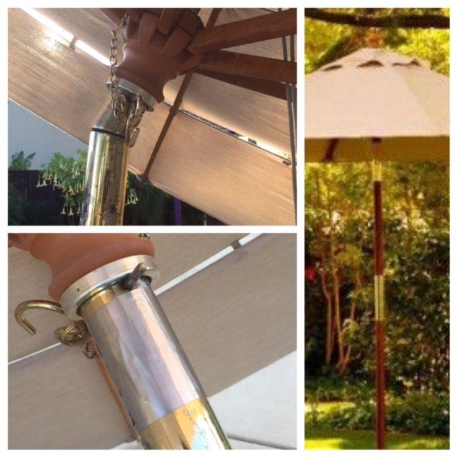 A quick and easy fix for a broken market umbrella tilt