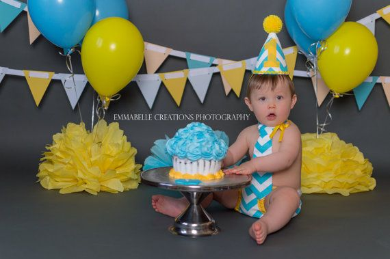 Personalized baby boy party set birthday outfitsmash by SMPstore