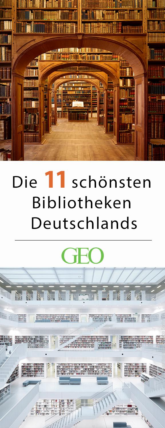 Die schönsten Bibliotheken in Deutschland #vacationlooks