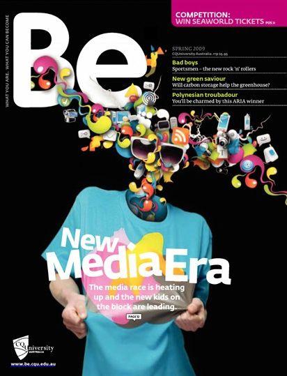 Be Magazine by Alberto Seveso   Creative Magazine Covers