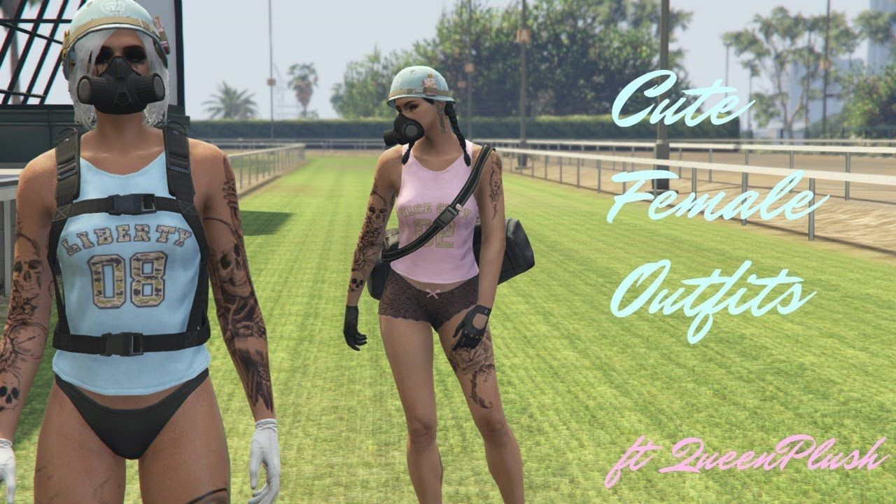 gta 5 outfits female tryhard ; gta 5 outfits female