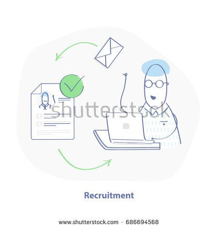 Recruitment process HR sends letters to job candidates, whose - ui ux resume