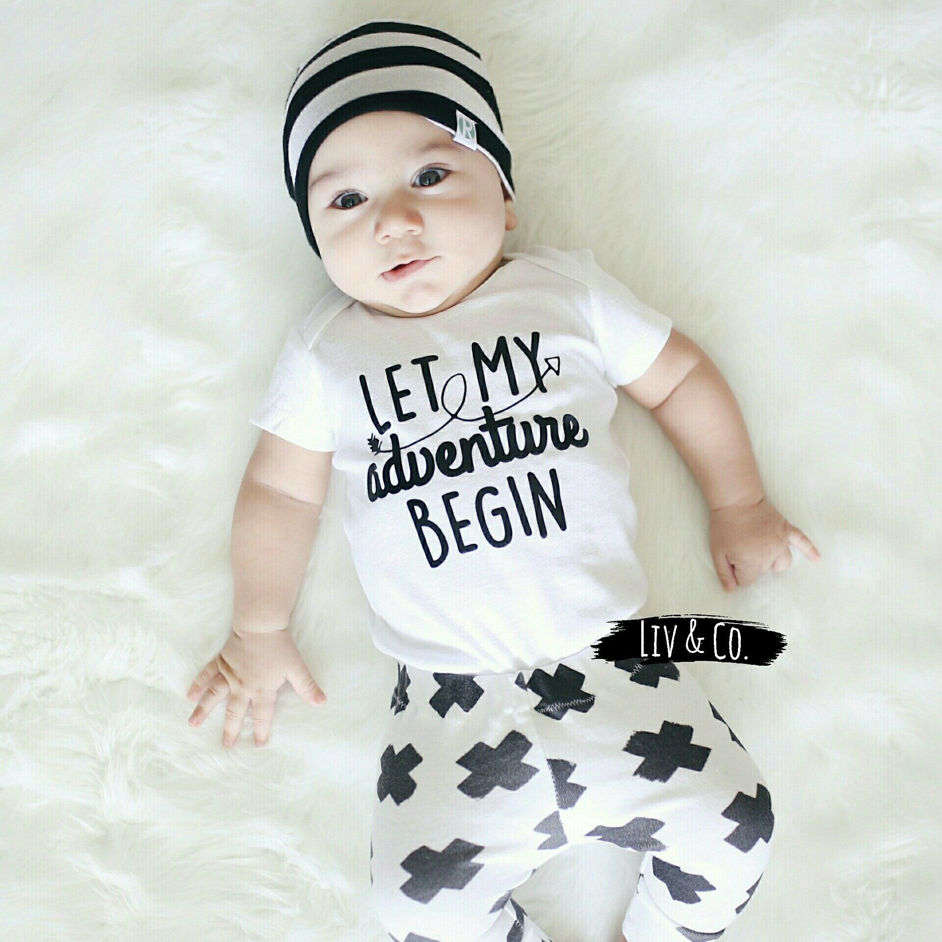 Baby boy clothes baby girl clothes baby coming home outfit infant clothing newborn photo outfit baby hospital outfit liv co