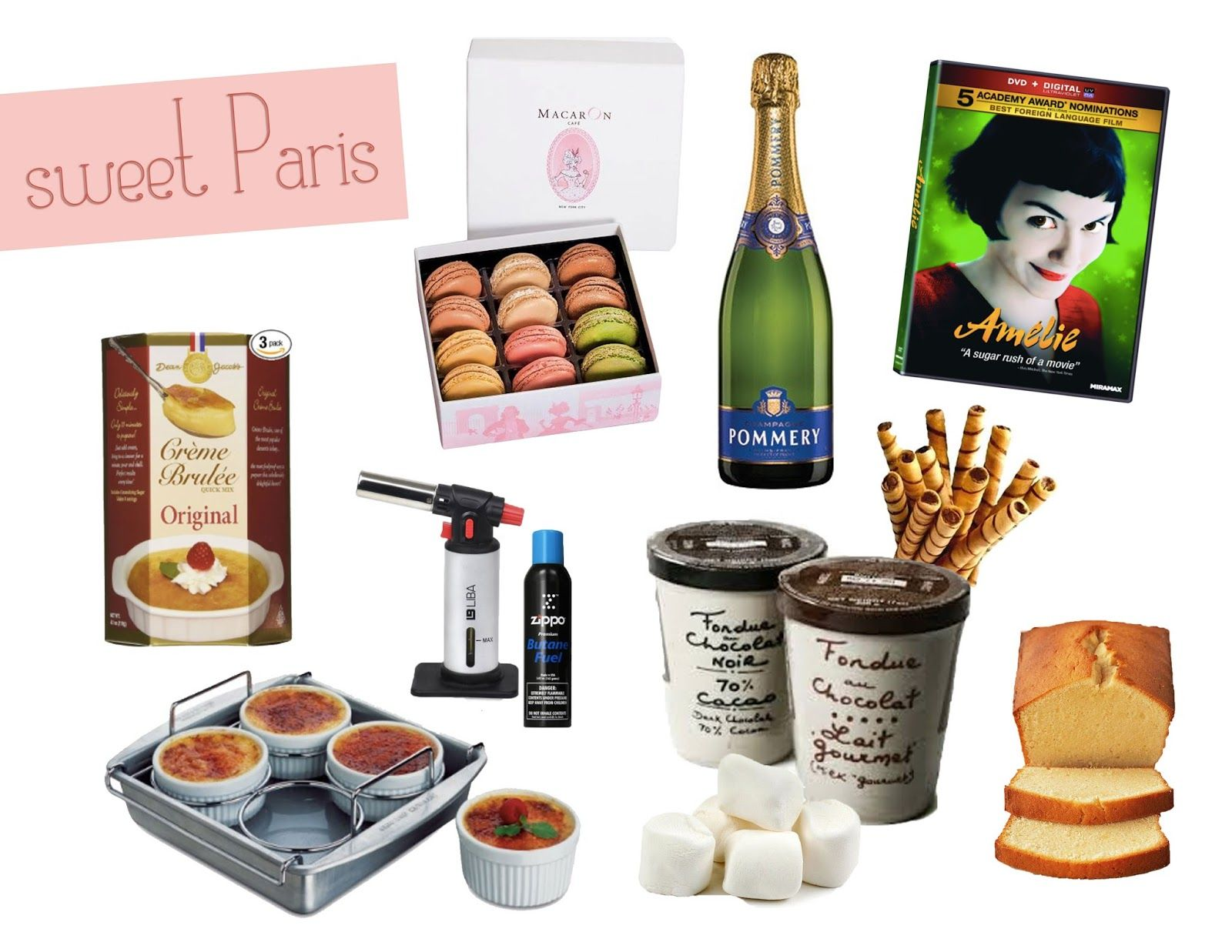 Sweet Paris dessert stay home date night kid ideas. {Valentine\'s ...