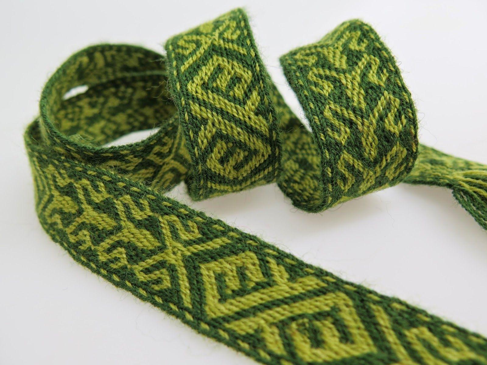 Hibernaatiopesäke: Lautanauhaohje: Birka 21 / new tablet weaving ...