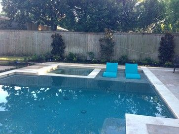 Ledge Loungers In Action!   Traditional   Pool   Houston   Ledge Lounger LLC
