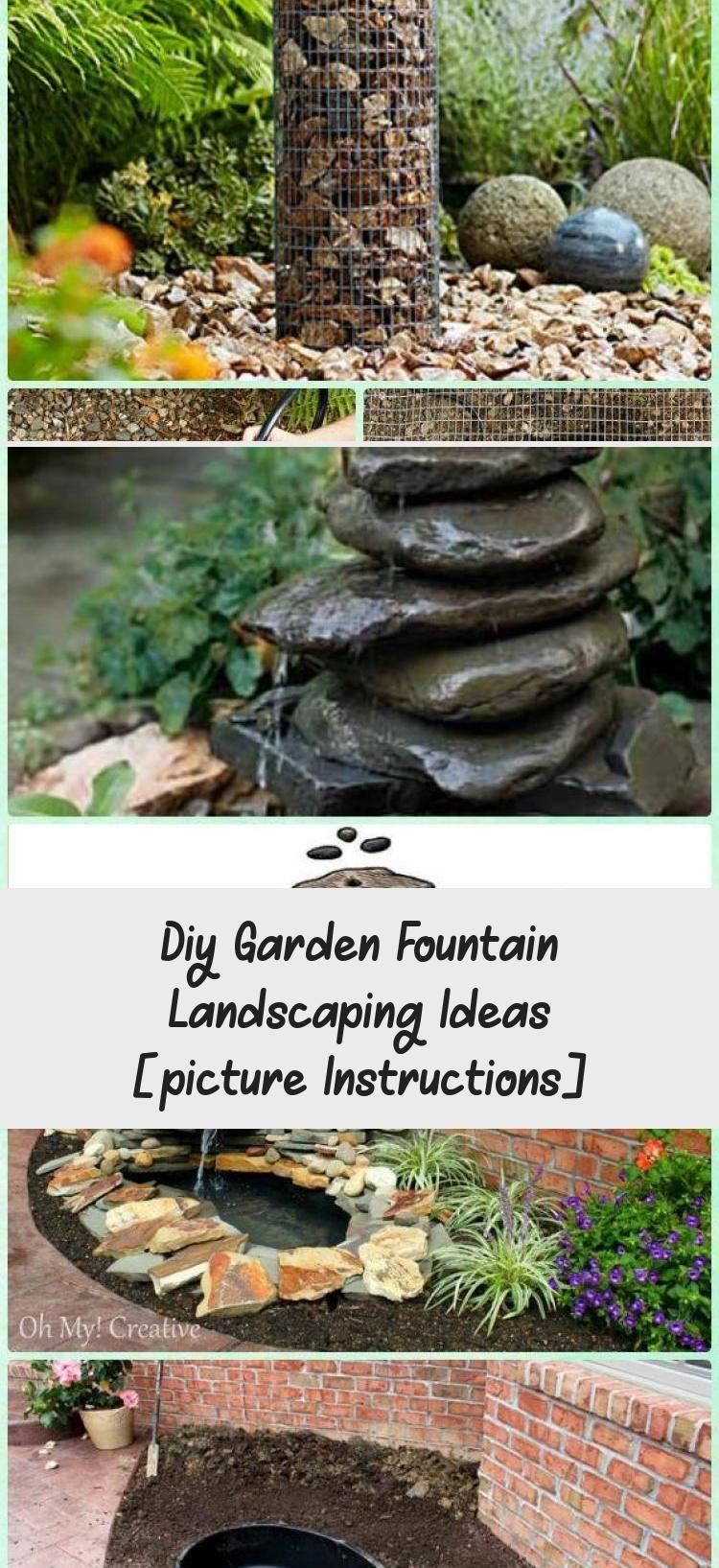 Diy concrete fountain instruction diy fountain