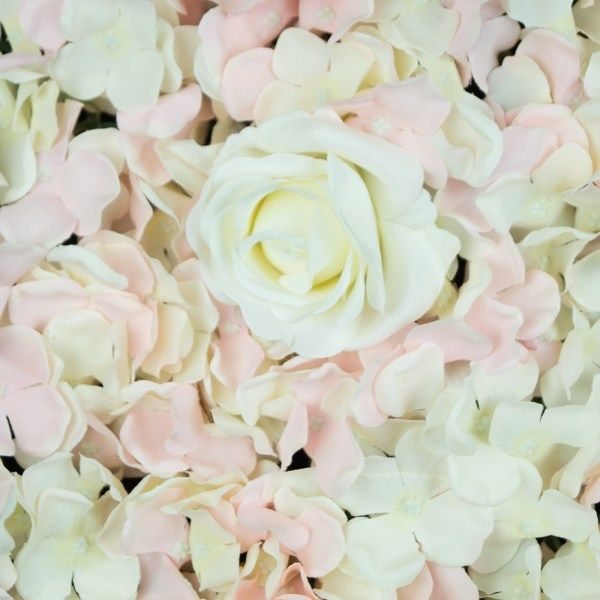 White And Pink Flower Wall Panels Beautiful Backdrops For Weddings And Special Events Flower Wall Flowers Rose Flower