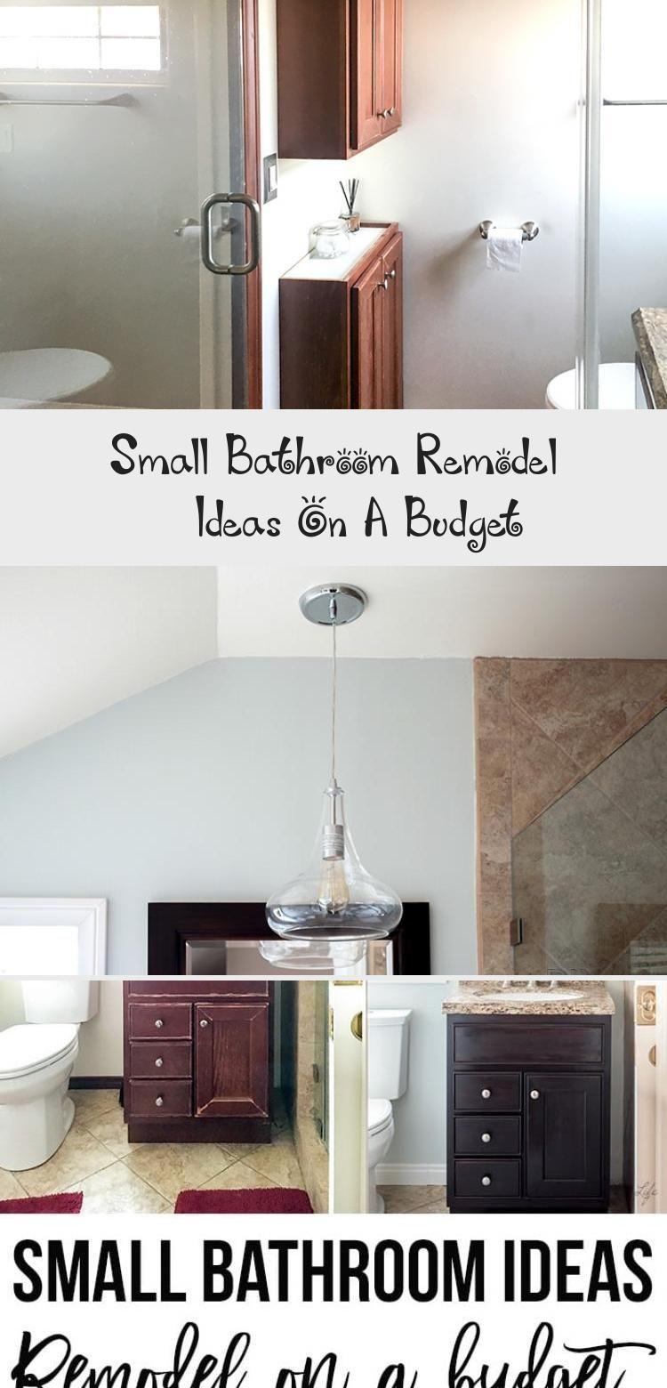 Kleine Badezimmer Umgestalten Ideen Auf Ein Budget Badezimmer Small Bathroom Bathroom Remodel Cost Cheap Bathroom Remodel