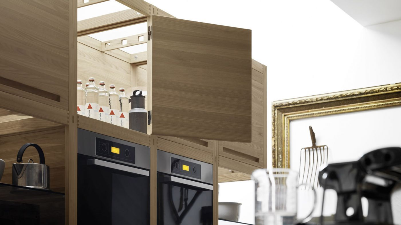 Modern Italian Rusticity From Valcucine   Modern Rustic Kitchens, Kitchens  And Wine Storage