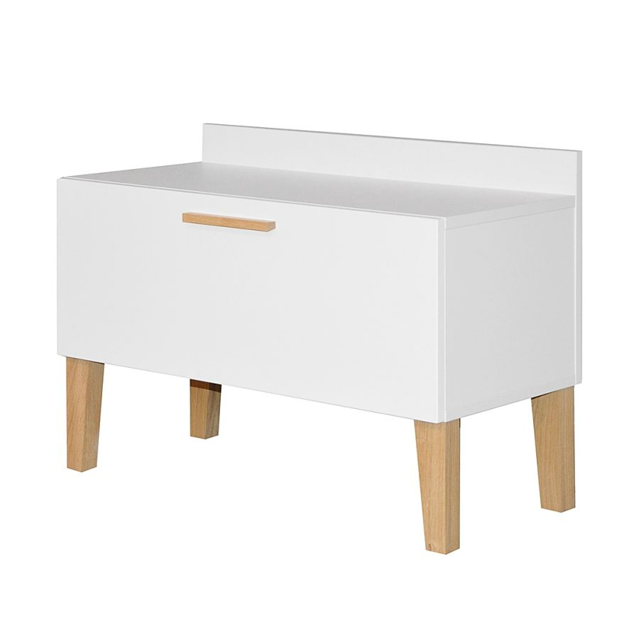 Meubles A Chaussures Pfister Banc Range Chaussures Ella Blanc Entry Storage Furniture