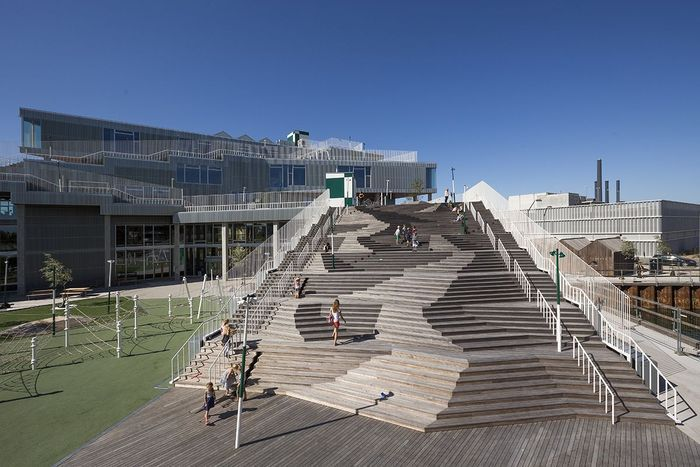 It S A Little Bit Frightening Landscape Stairs Architecture Architect