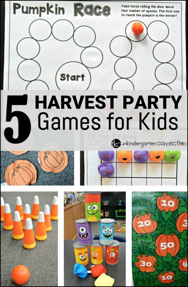 5 Harvest Party Games for Kids Harvest party games
