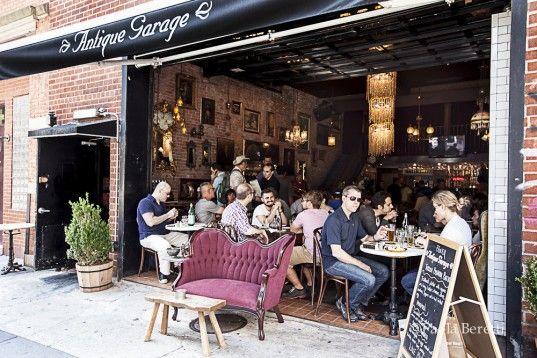 Architecture Trend Old Parking Garages Being Transformed Into Restaurants Galleries And Shops Architecture Cottage Design Garage Cafe
