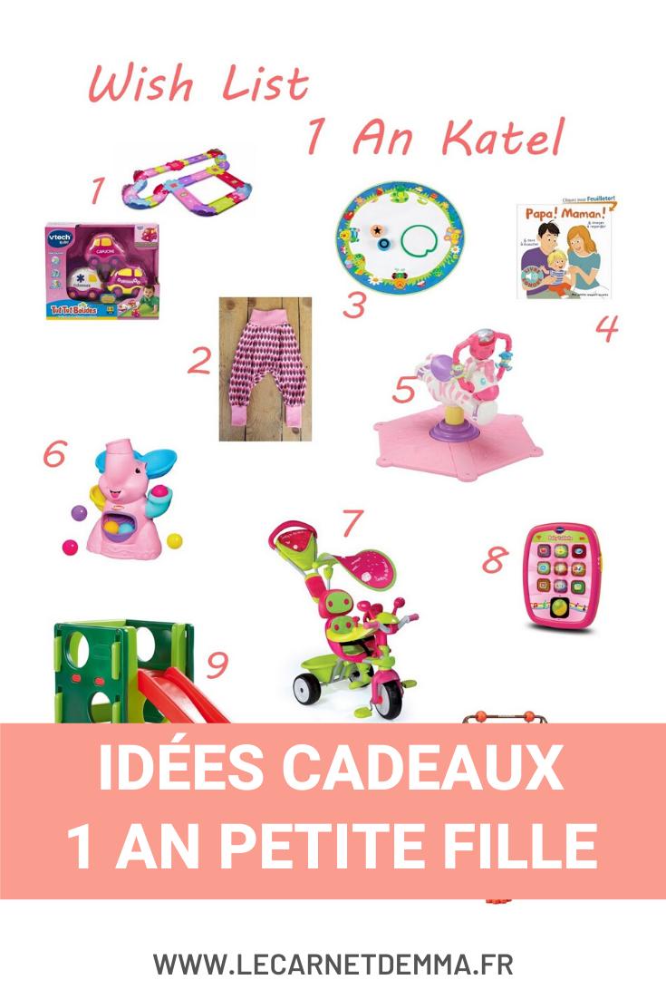 Idée Cadeau 1 An Fille 1 an Katel #4 } Wish List Anniversaire   Le Card'Emma en 2020