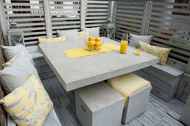 #balcony #plants #garden #natural #styling #decor #minimalist #cushions