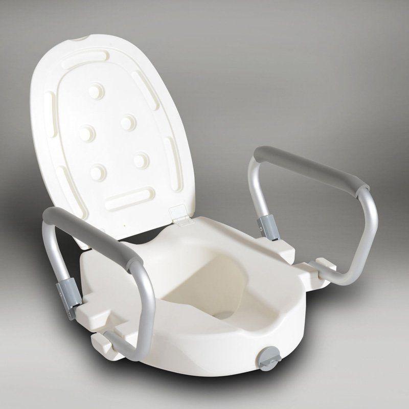 Homcom Medical Raised Toilet Seat Riser 811 031 Toilet