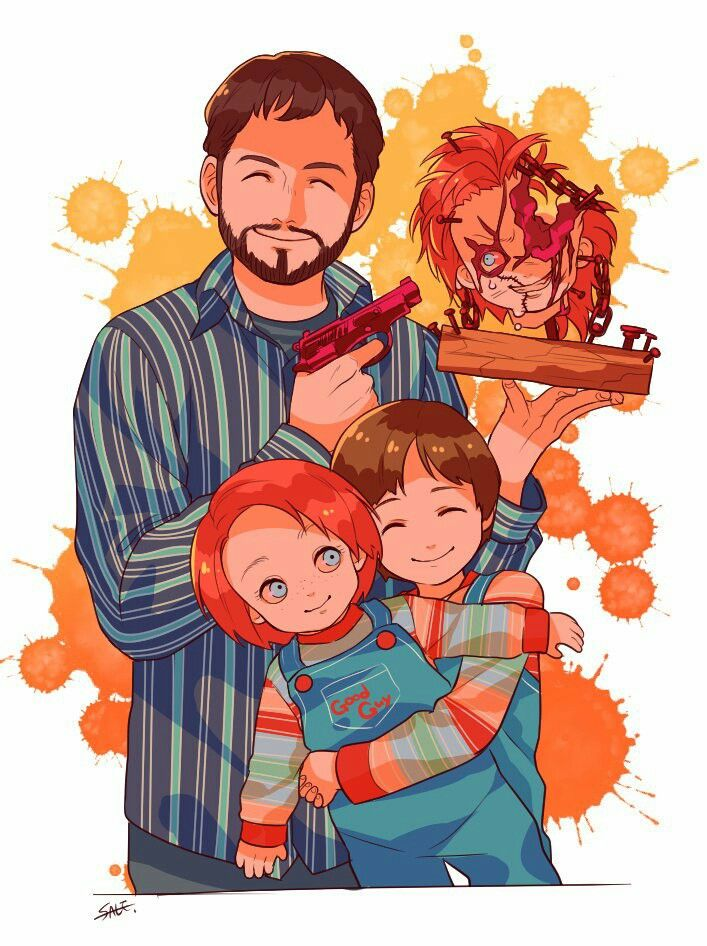 Child\u0027s Play, Chucky, Andy Barclay, Horror Characters, Horror Movies,  Twitter (Credits for the Artist)