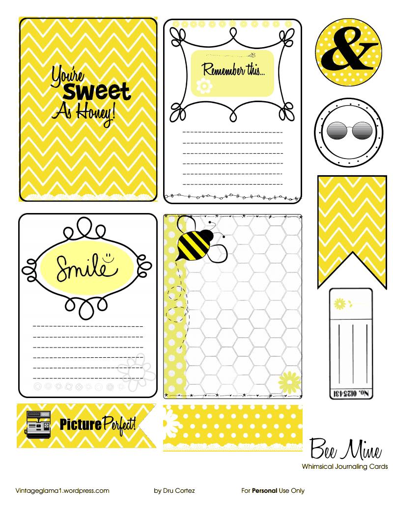beemine-journaling-cards.pdf - Google Drive   Bees   Pinterest ...