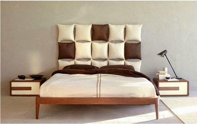 Bed Headboards Use Cushions To Make A Single Headboard Diy