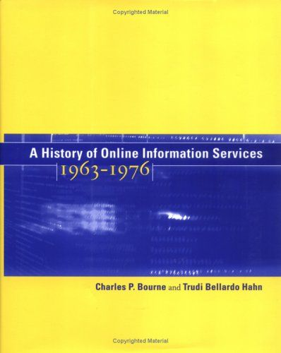 A history of online information services.