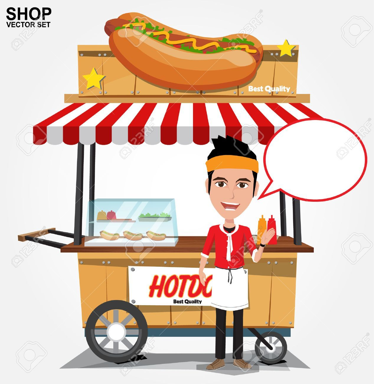 32++ Hot dog stand clipart information