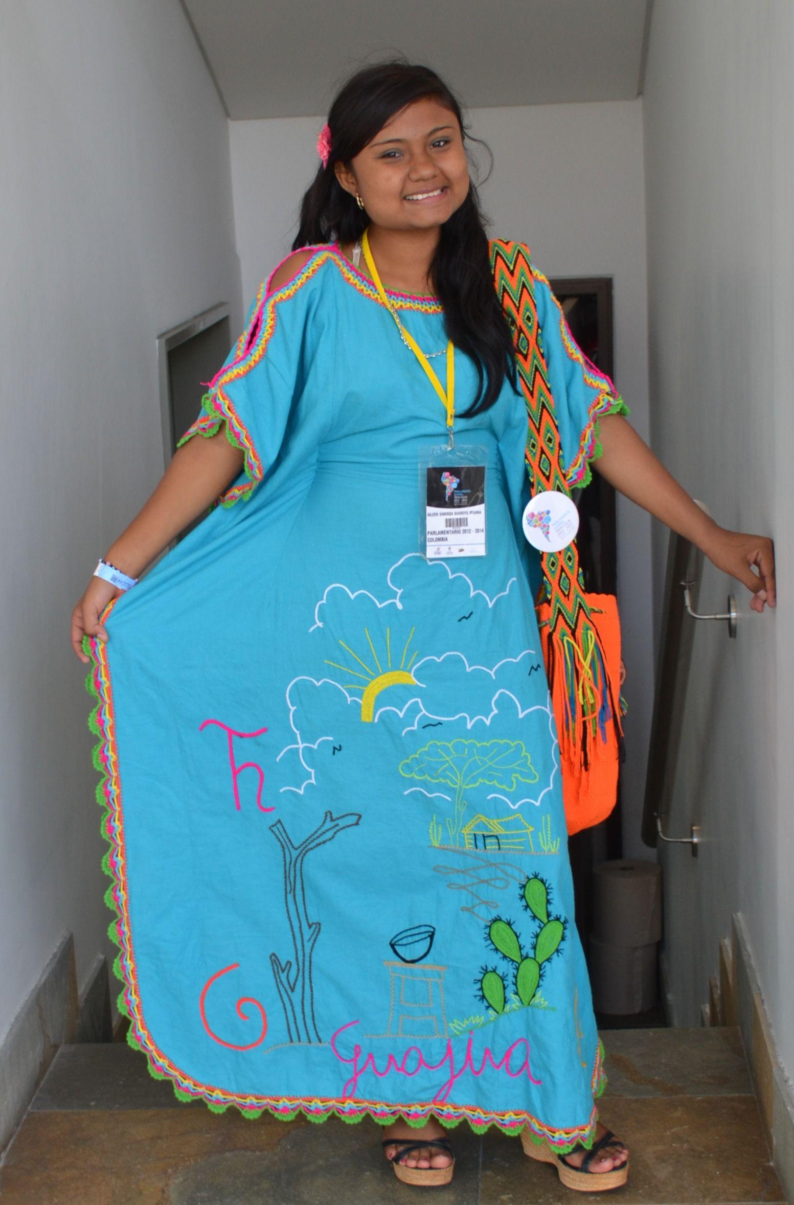 Vestido mujer wayuu