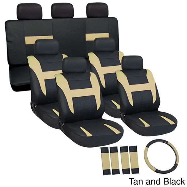 Remarkable Oxgord Cloth Mesh 17 Piece Suv Seat Covers Set For Sport Machost Co Dining Chair Design Ideas Machostcouk